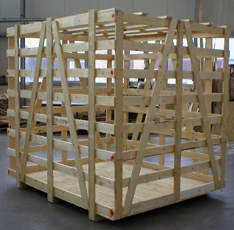 Verschlag aus Holz bauen